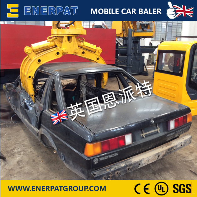 Mobile Car Baler-4