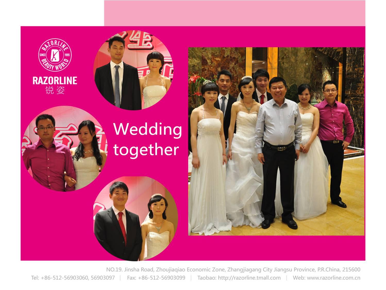 Wedding together
