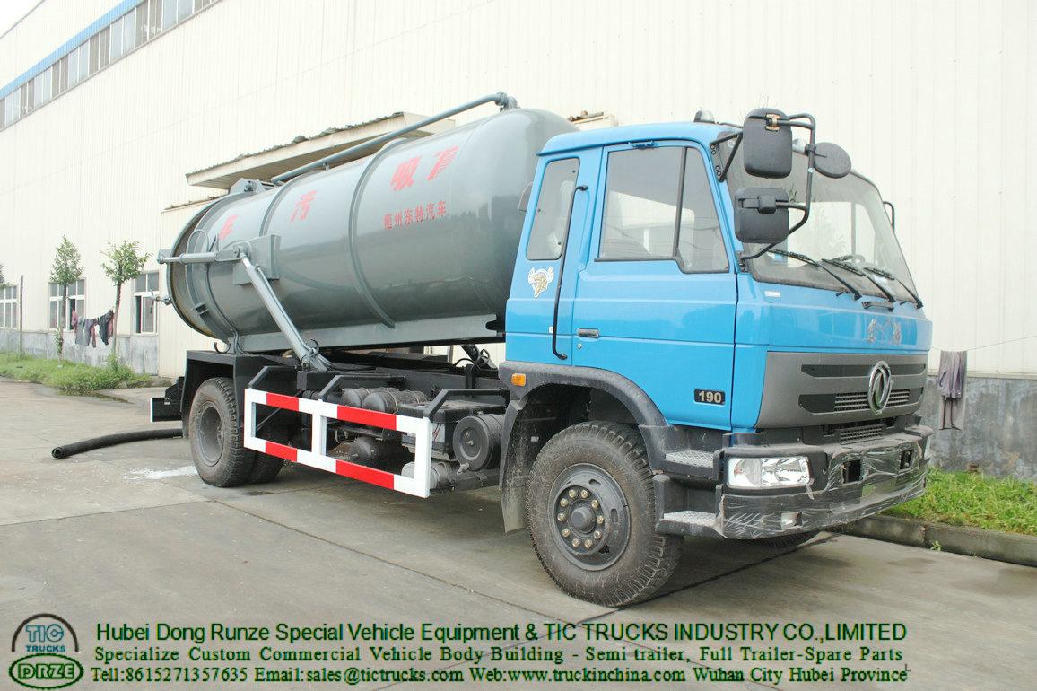 Vacuum Tank Truck -81T-tank