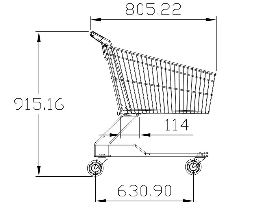 Shopping Trolley (YRD-Y90)