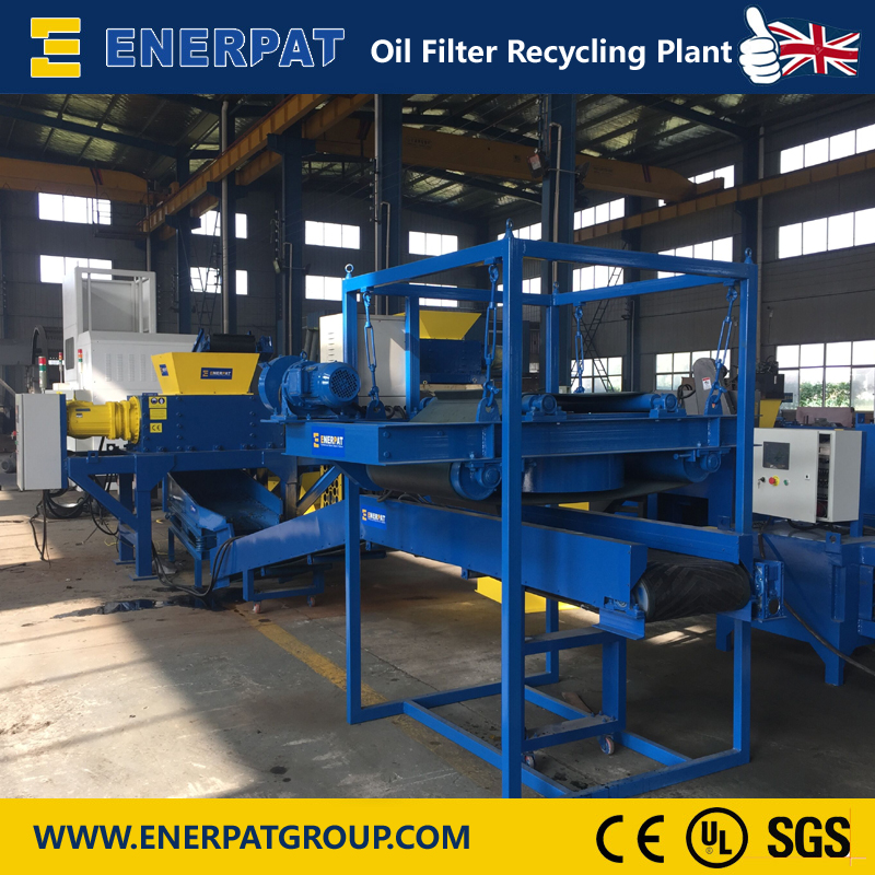 Enerpat Oil Filter Recycling Plant