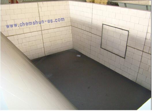chemshun ceramics --silos alineados de cerámica de abrasión
