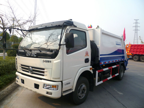 DONGFENG 6-8CBM COMPACTOR GARBAGE TRUCK