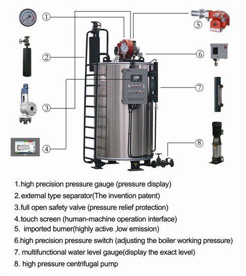 industrial diesel steam boiler