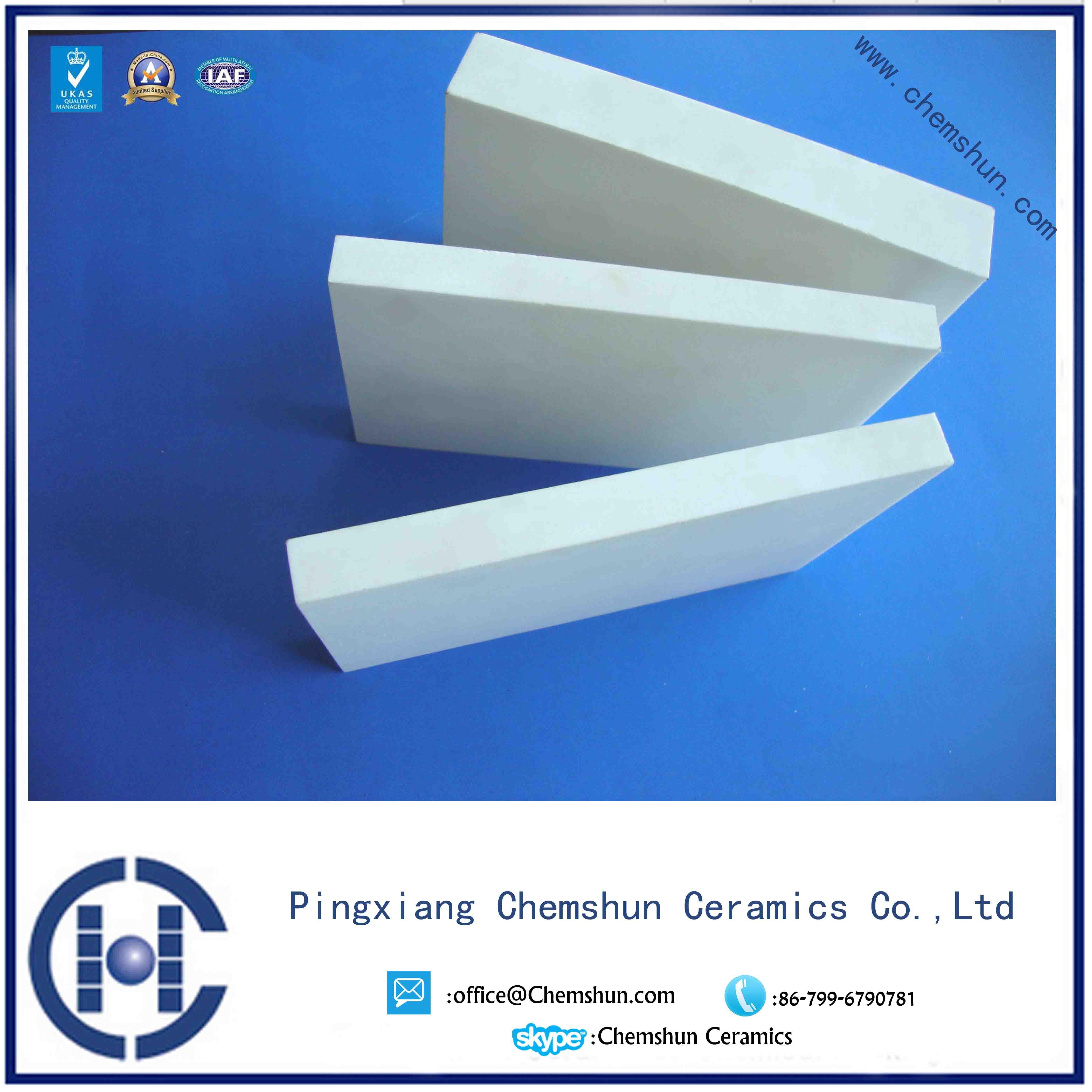ceramic engineering liner custom designed for Combustion system