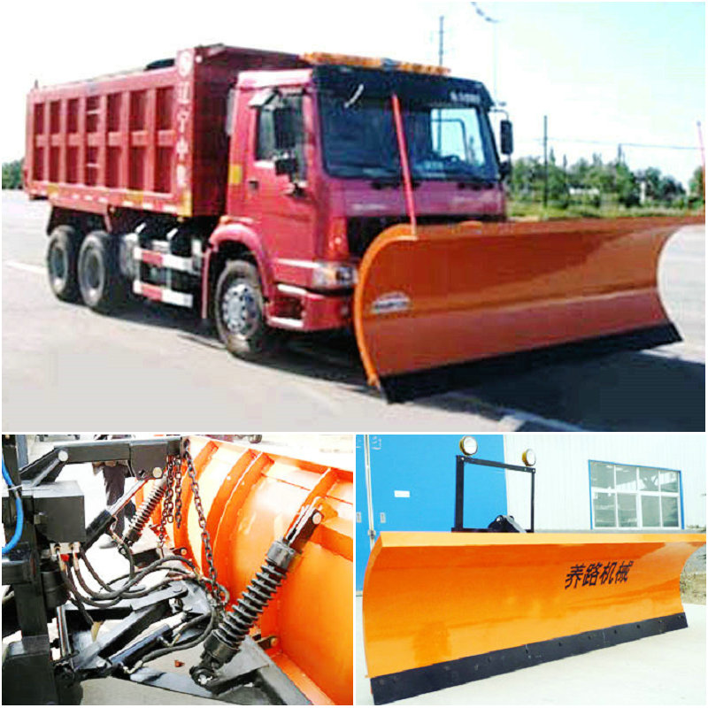 Howo 64 snow sweeper truck 254