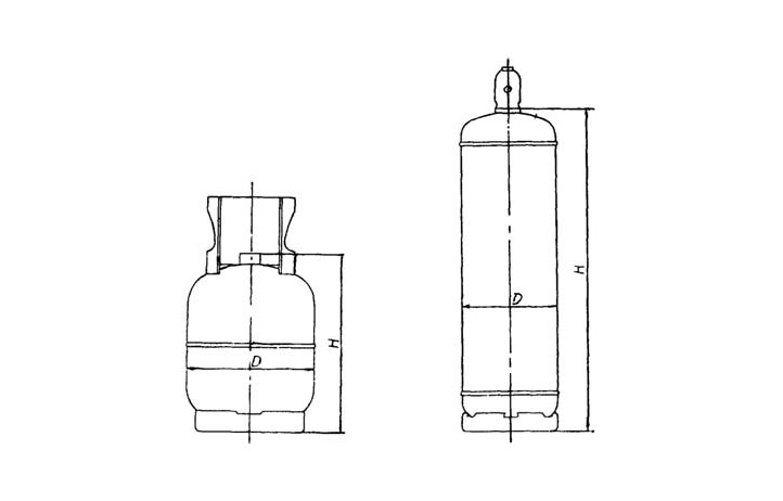 gas cylinder size chart-SEFIC