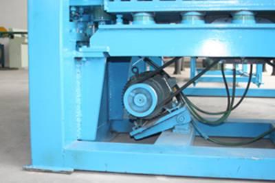 supporting beam of BLOCK MAKING MACHINE