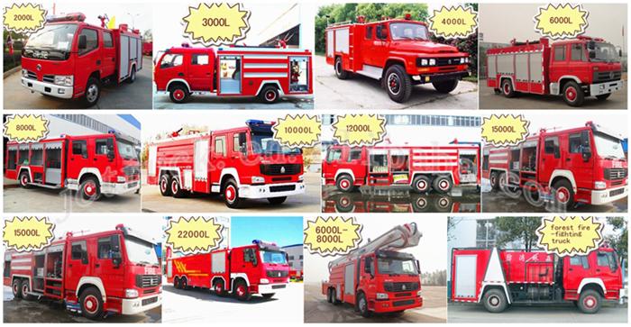 fire truck -04-ISUZU 3CBM WATER TANK FIRE