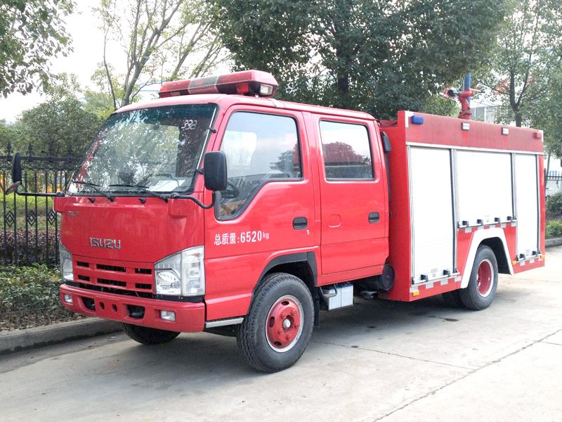 fire truck -01-ISUZU 3CBM WATER TANK FIRE
