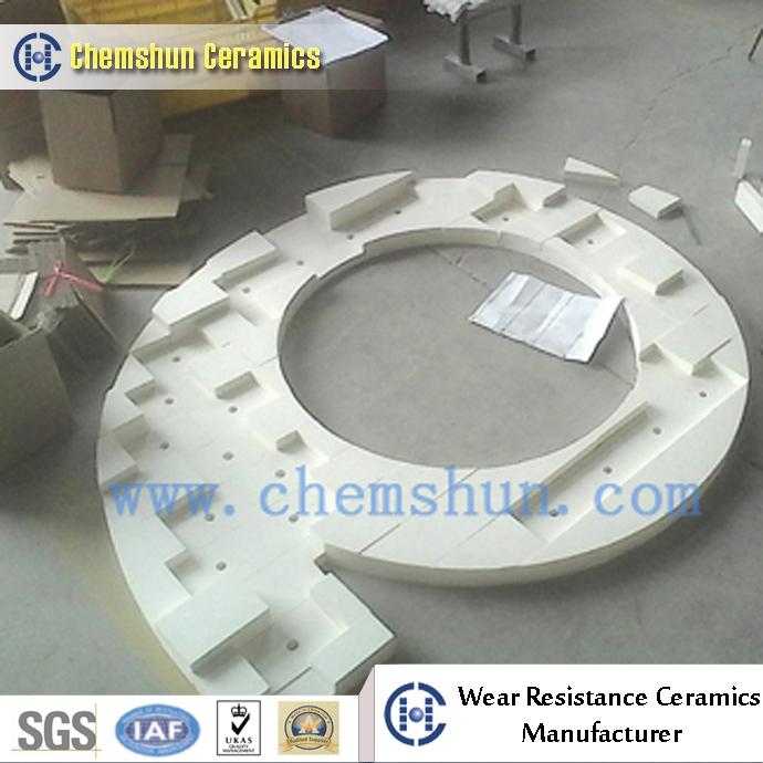 chemshun ceramics - high alumina ceramic linings designed as cyclone linings