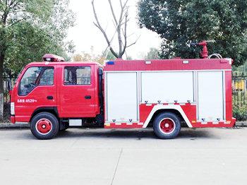 fire truck -02-ISUZU 3CBM WATER TANK FIRE
