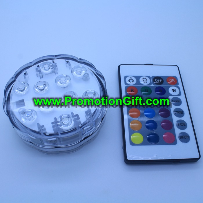 Remote submersible LED light