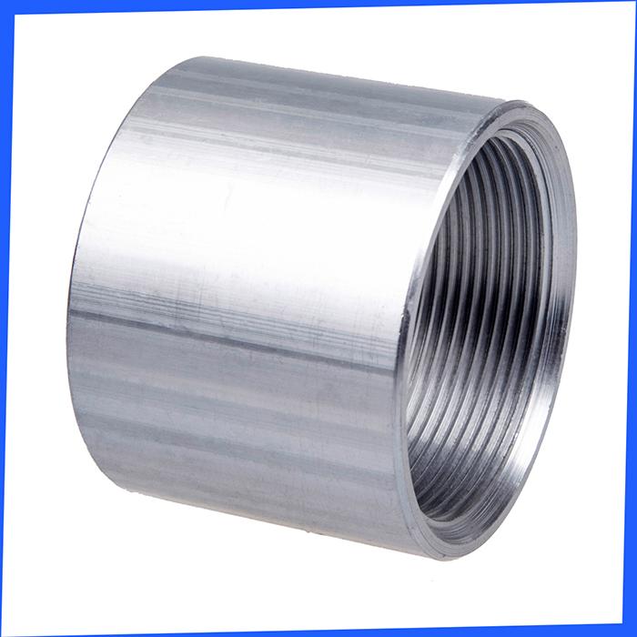 China aluminum threaded pipe fittings of rigid coupling