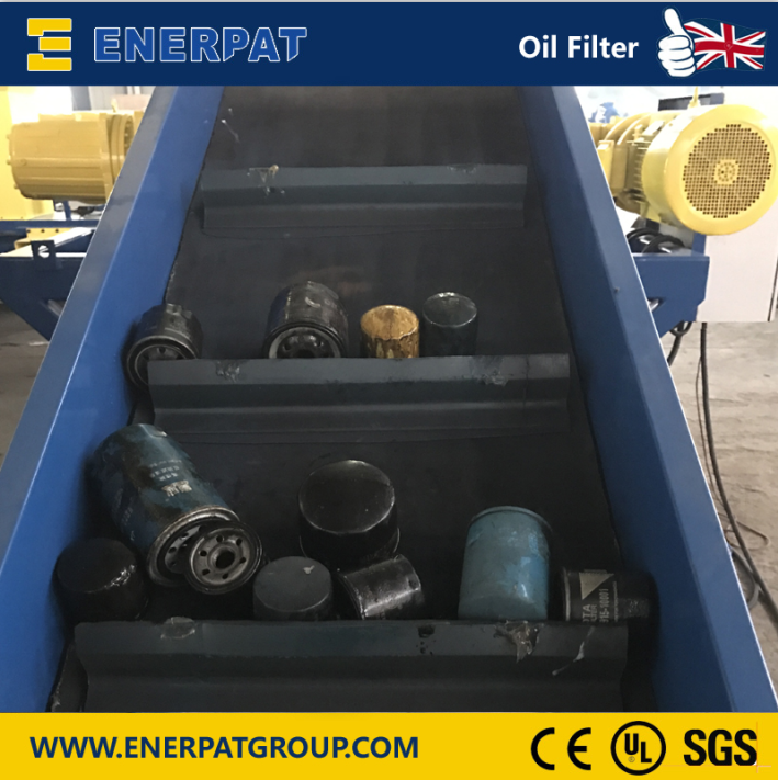 Enerpat Oil Filter Recycling Line-19