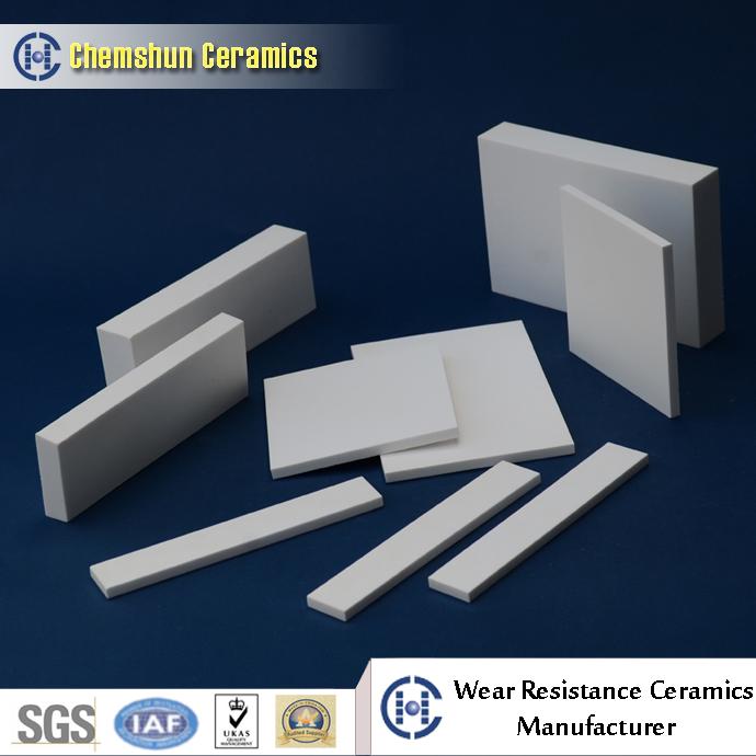 chemshun ceramics alumina ceramic tiles for cement wear parts