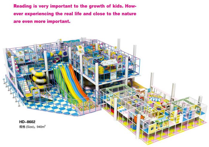 New Design Guangzhou Kids Indoor Soft Games For Salehd 8602 From