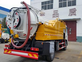 Dongfeng 4x2 10CBM cleanout sewage suction truck 201601221901456944