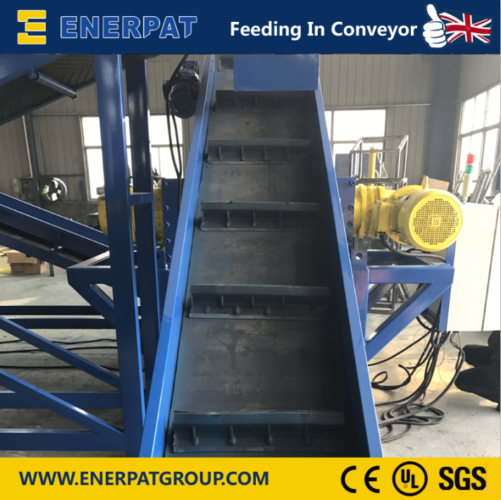 Enerpat Oil Filter Recycling Line-17