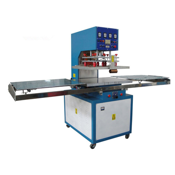 Shuttle way 5 KW High Frequency PVC Blister Packing Machine, HF Blister Package Heat Sealing Machine