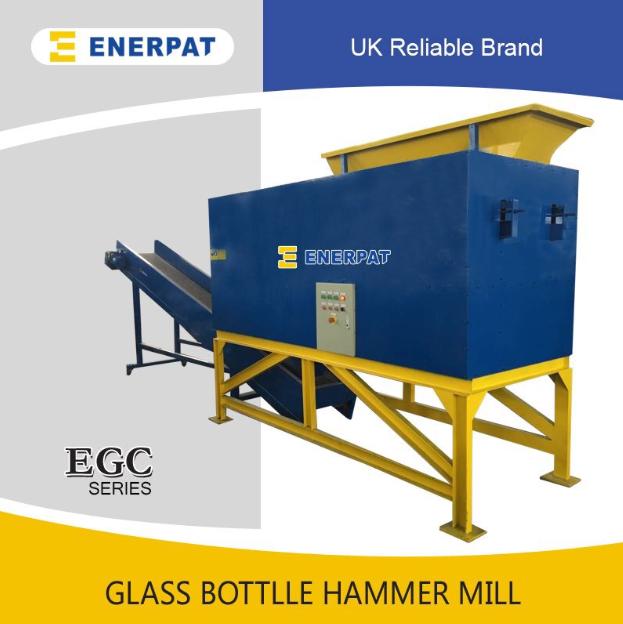 EGC-2000 玻璃瓶粉碎机