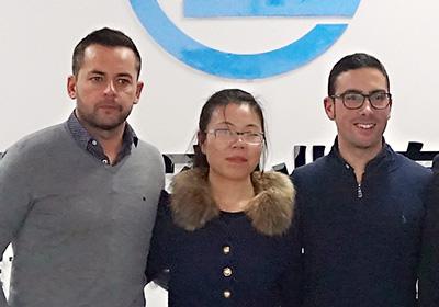 Spain customers visit SEFIC (2)