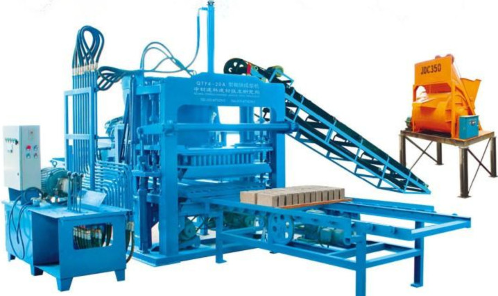 QTY4-20A produciton line