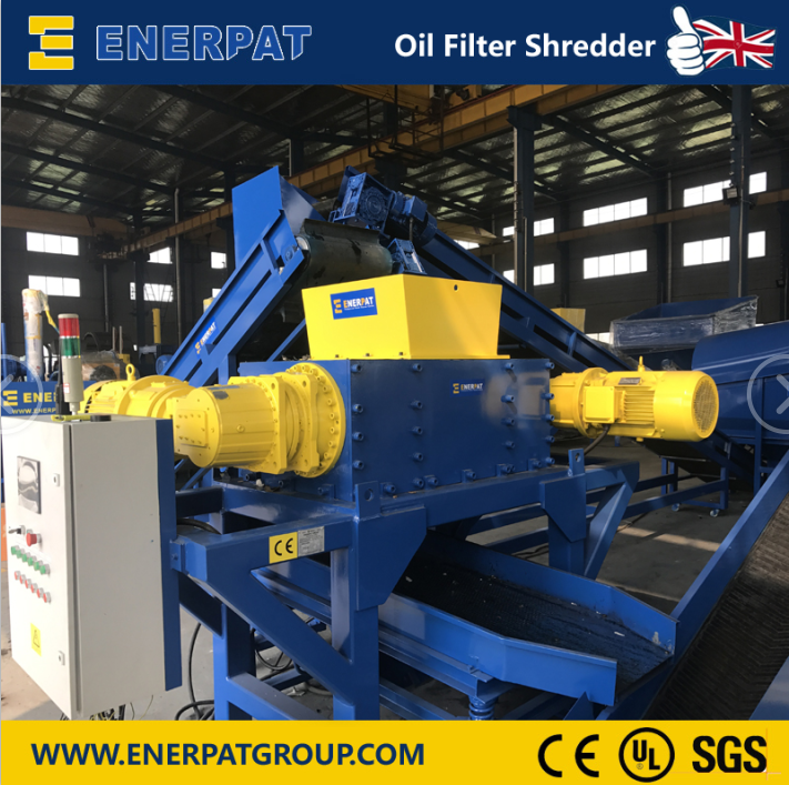 Enerpat Oil Filter Recycling Line-15