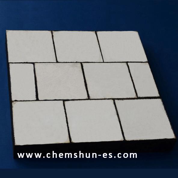 1 rubber backed ceramic composite liner