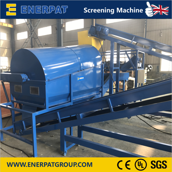 Enerpat Oil Filter Recycling Line-16