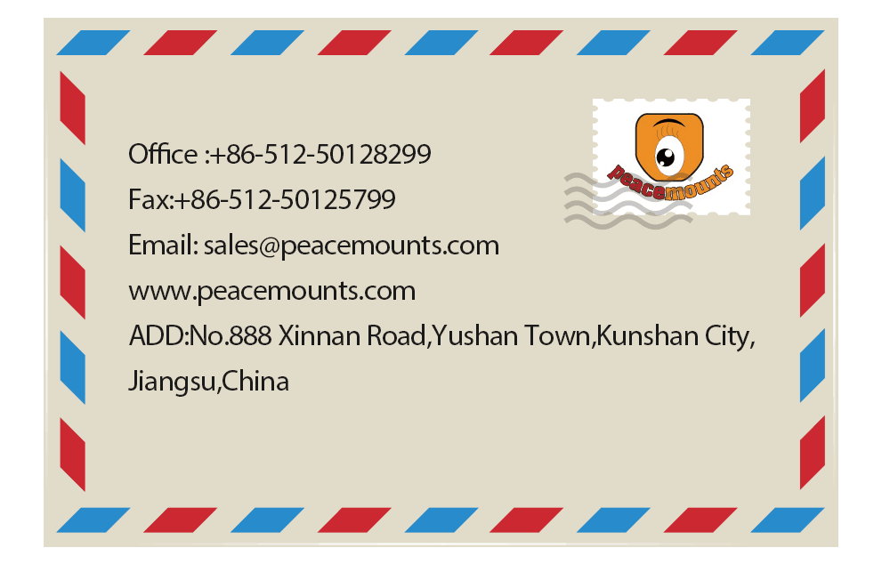 Peacemounts TV mount China manufacture contact way