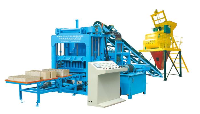 QTY4-15 automatic block machine