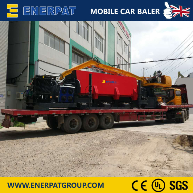 Mobile Car Baler-2