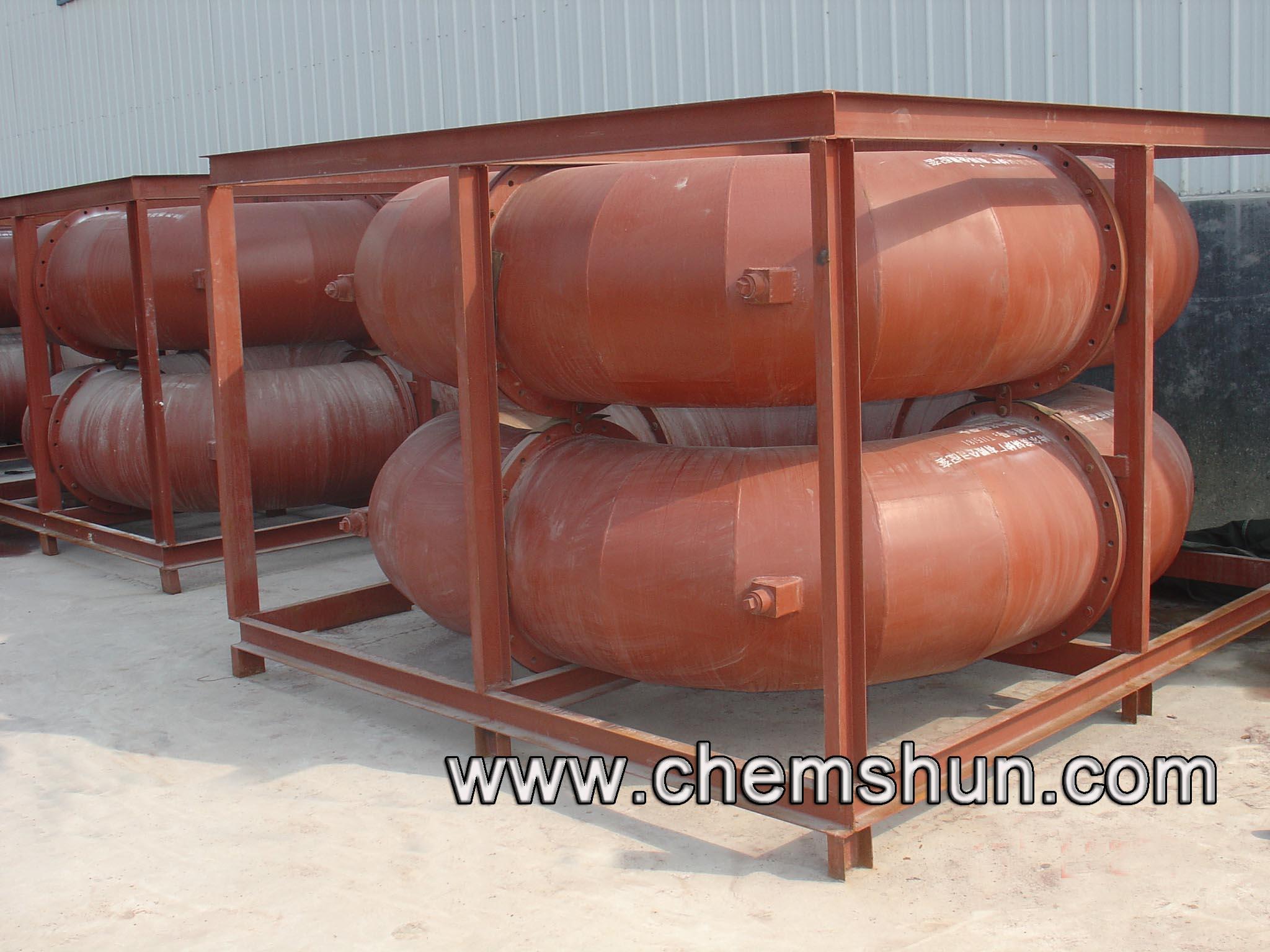 Tubería de alumina resistente a la abrasión de Chemshun