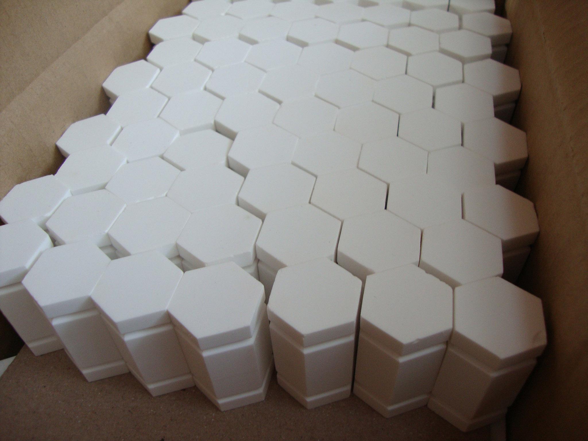 paquete de baldosas hexagonales