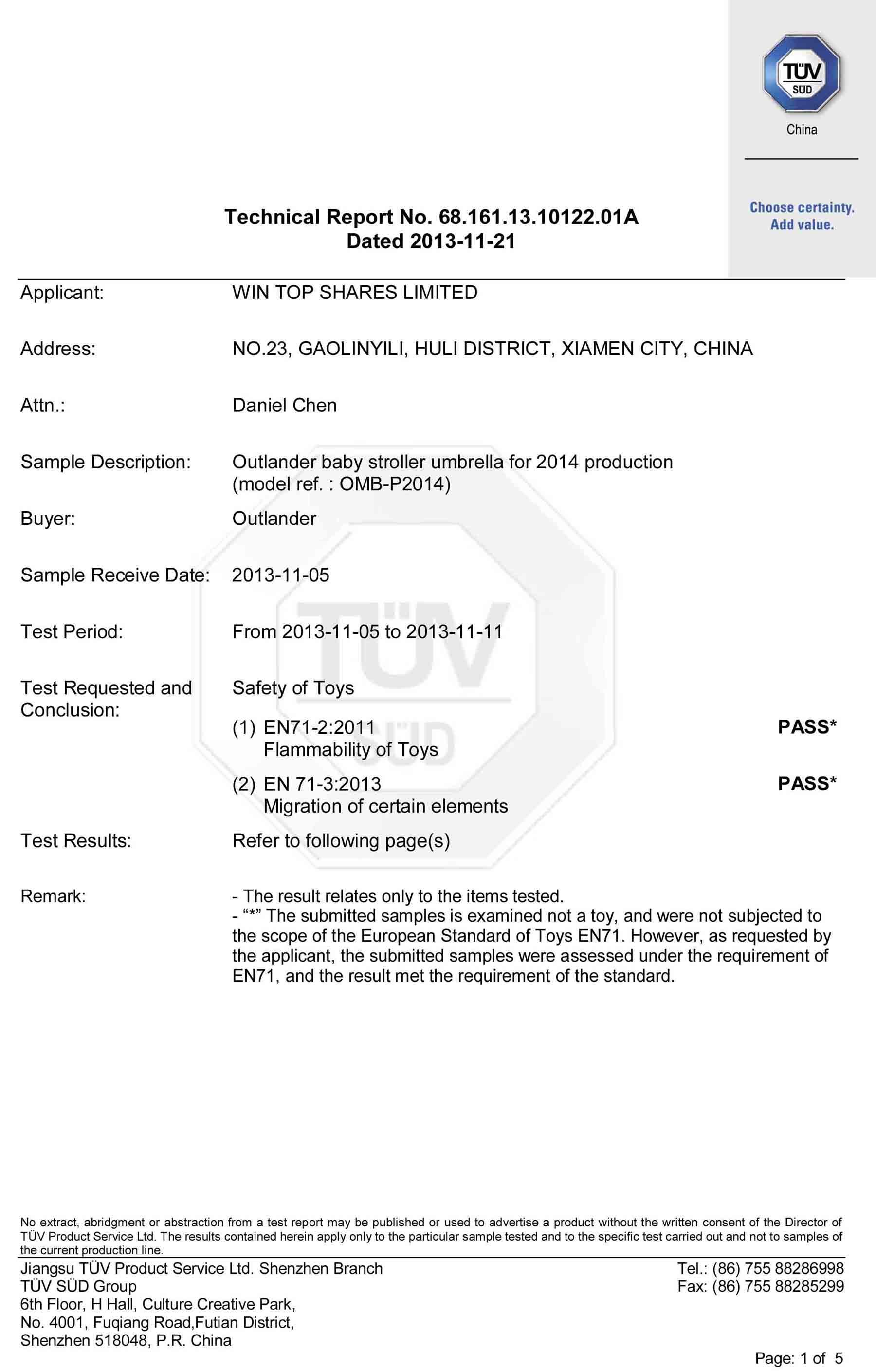 EN71-2-EN71-3-Certificate-for-baby-stroller-umbrellas