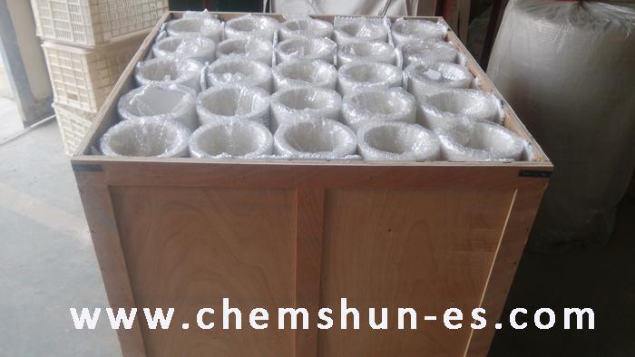 tuberías de alumina