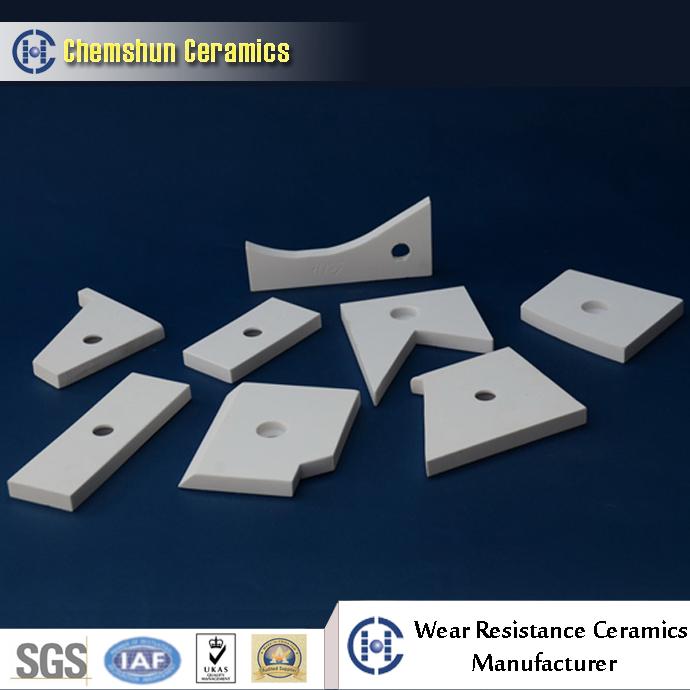 chemshun ceramics high alumina ceramics for mining wear parts